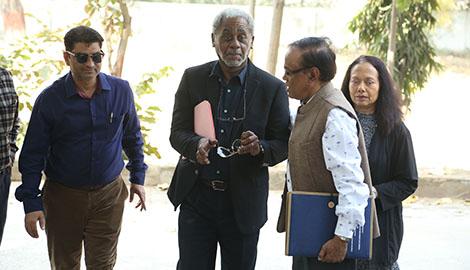 Charles Johnson India Visit